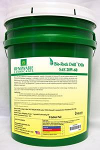 Bio-Rock Drill™ Oils (10W20, 10W30, 15W50, 20W60)