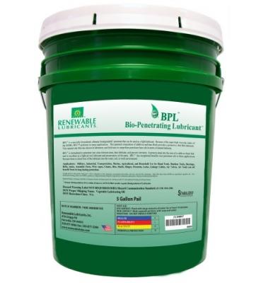 Bio-Penetrating Lubricant TM (BPL TM)